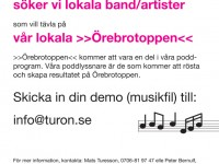 Anmäl ditt band till Örebrotoppen!