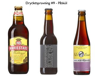Dryckesprovning #9 – Vi provar Påsköl – lyssna gärna!